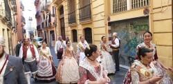 La Junta Local Fallera de Xátiva visita Valencia en la recepción fallera (177)