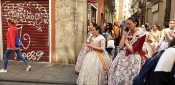 La Junta Local Fallera de Xátiva visita Valencia en la recepción fallera (185)