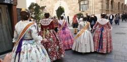 La Junta Local Fallera de Xátiva visita Valencia en la recepción fallera (190)