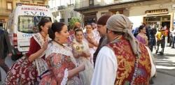 La Junta Local Fallera de Xátiva visita Valencia en la recepción fallera (192)