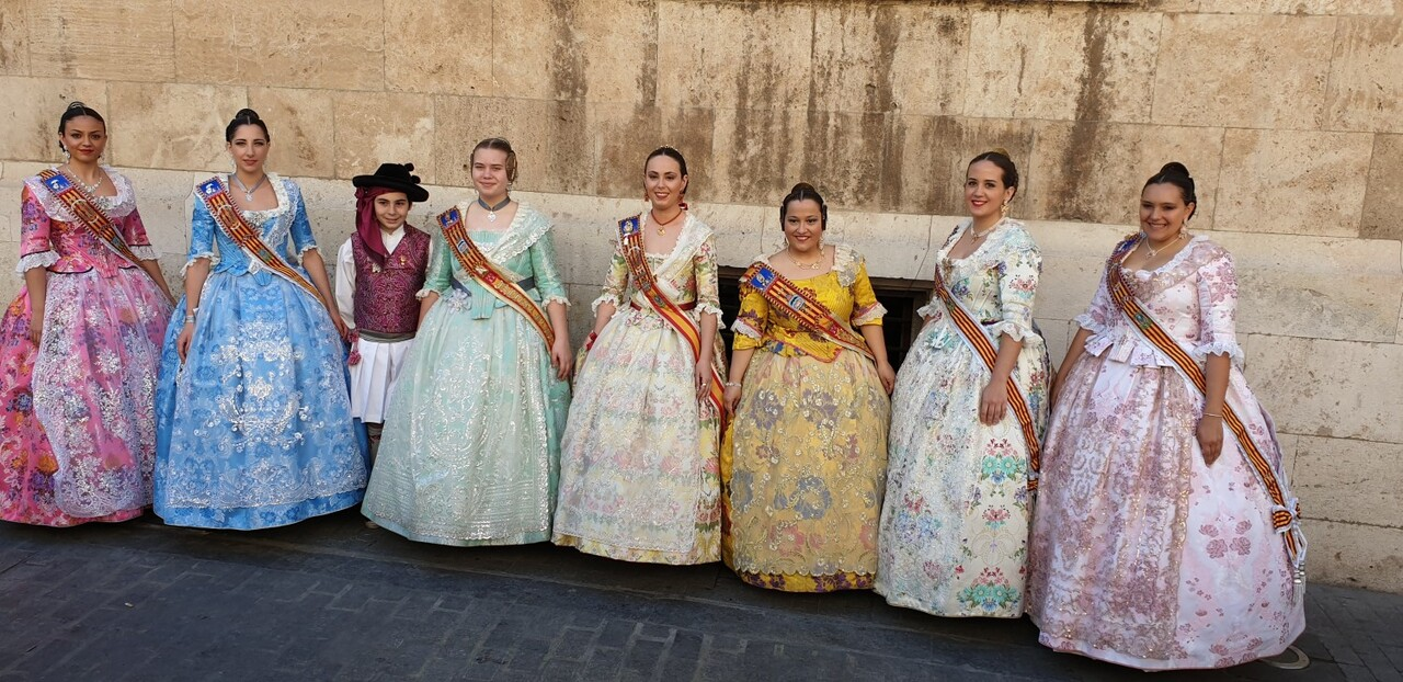 La Junta Local Fallera de Xátiva visita Valencia en la recepción fallera (199)