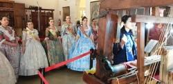 La Junta Local Fallera de Xátiva visita Valencia en la recepción fallera (25)