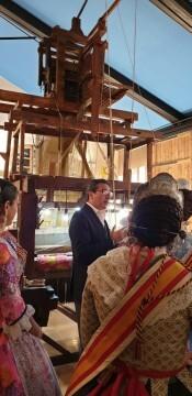 La Junta Local Fallera de Xátiva visita Valencia en la recepción fallera (72)