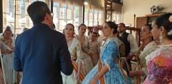 La Junta Local Fallera de Xátiva visita Valencia en la recepción fallera (73)