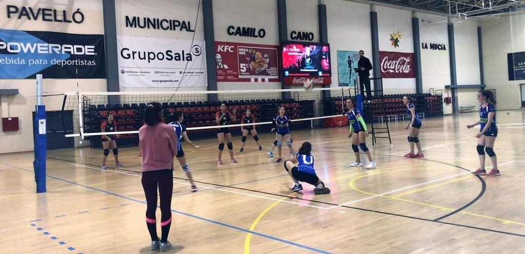 """La Nucia Infantil """"A"""" Voleibol vs San Juan 1 2019"""
