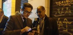 La falla Espartero G.V Ramón y Cajal recibe a la delegación deexpertos enindumentaria de Unesco (5)
