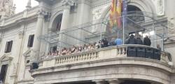 Las casas regionales en valència se suman al espectáculo de la mascletà