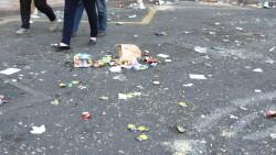 Los servicios de limpieza retiran en València más de 3.800 toneladas de residuos durante las Fallas (5)