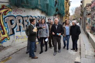 María José Catalá visita en barrio de Zaidía en Valencia (14)