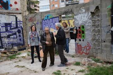María José Catalá visita en barrio de Zaidía en Valencia (18)
