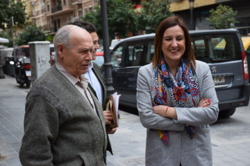 María José Catalá visita en barrio de Zaidía en Valencia (2)