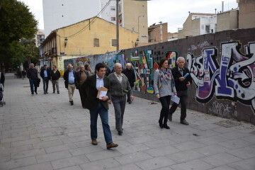 María José Catalá visita en barrio de Zaidía en Valencia (21)