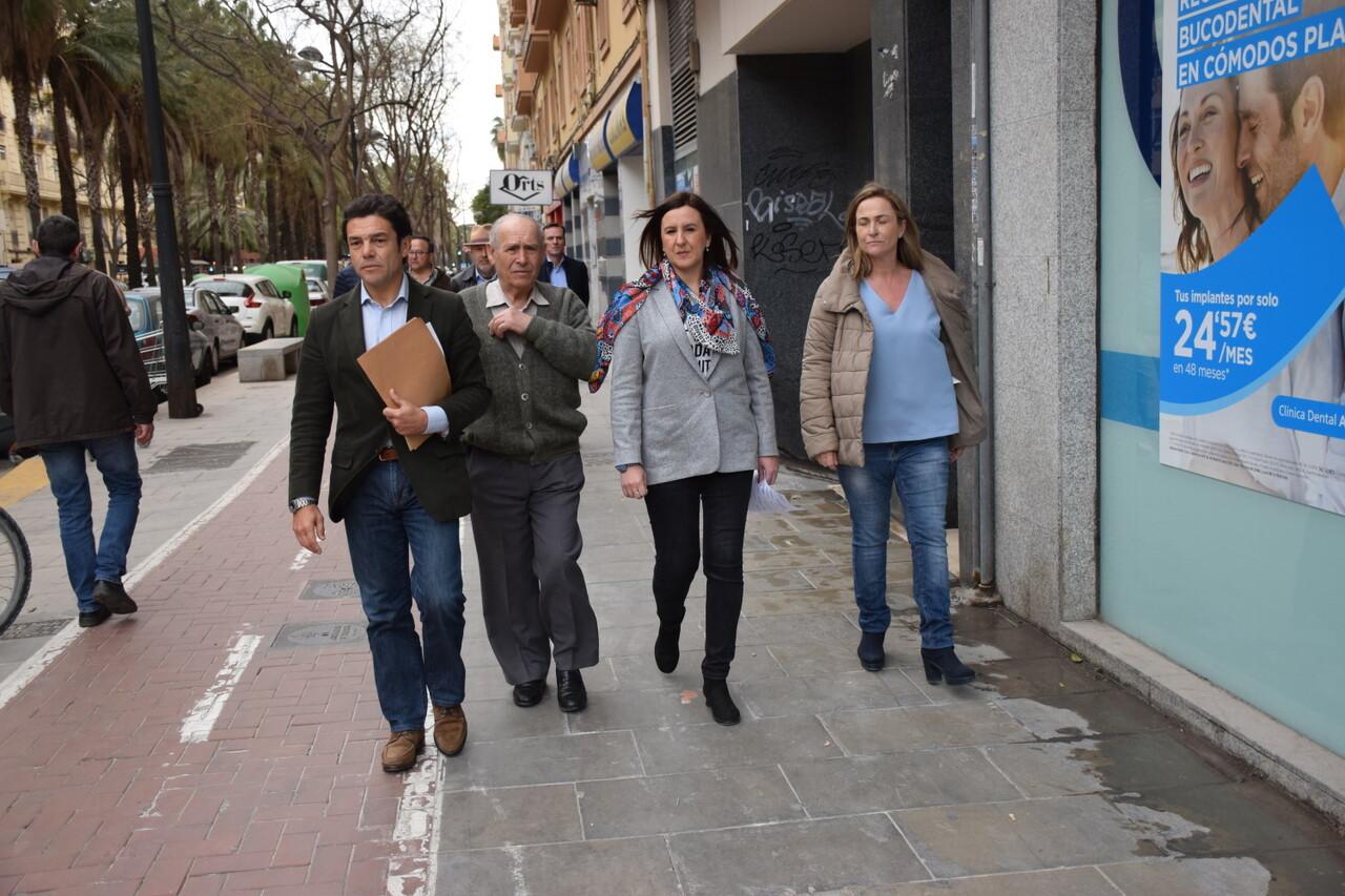 María José Catalá visita en barrio de Zaidía en Valencia (22)