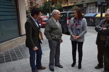 María José Catalá visita en barrio de Zaidía en Valencia (3)