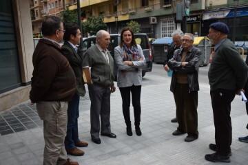 María José Catalá visita en barrio de Zaidía en Valencia (4)