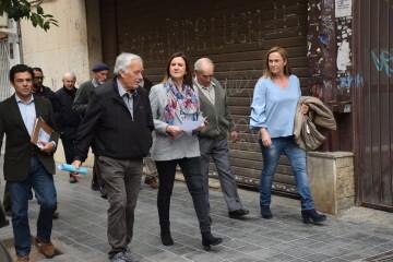 María José Catalá visita en barrio de Zaidía en Valencia (7)
