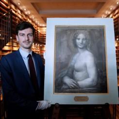 Leonardo da Vinci desnudó a la Gioconda