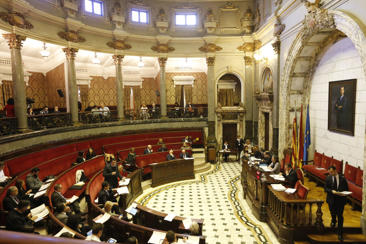 Pleno ayuntamiento.  *** Local Caption *** Ayuntamiento.