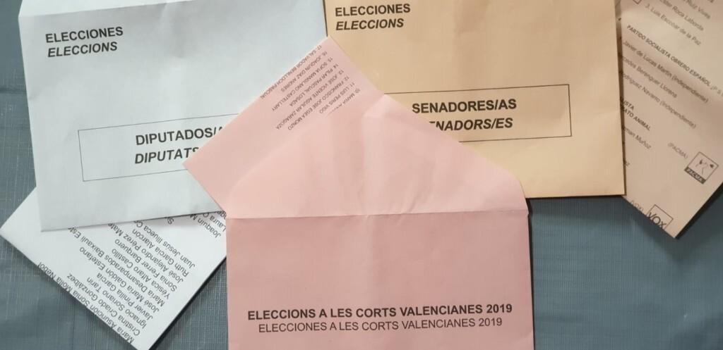 ¿Qué se vota el domingo en Valencia Congreso, Senado y Cortes Valencianas (2)