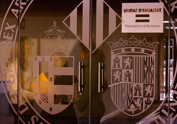 VALENCIA 20 1 10 OFICINAS DE LA UNIDAD DE IGUALDAD DE LA UNIVERSITAT DE VALENCIA FOTO MIGUEL LORENZO