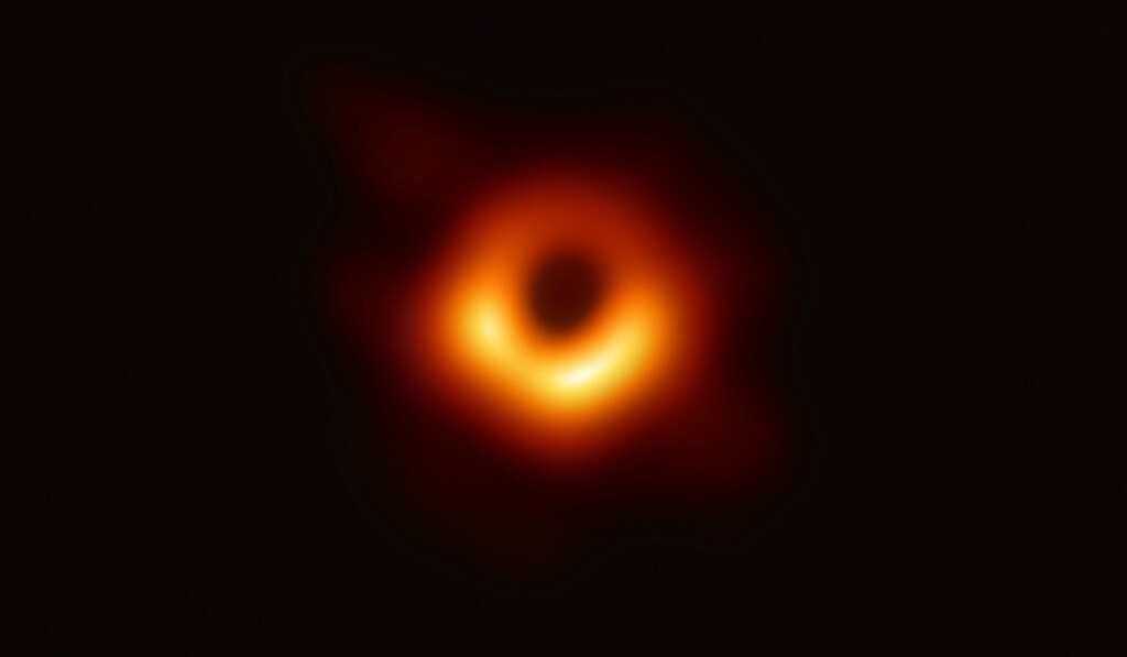Así es un agujero negro