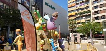 Ciudadanos (Cs), que plantó una falla en la plaza de los Pinazo (10)