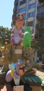 Ciudadanos (Cs), que plantó una falla en la plaza de los Pinazo (13)