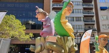 Ciudadanos (Cs), que plantó una falla en la plaza de los Pinazo (6)