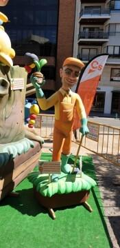 Ciudadanos (Cs), que plantó una falla en la plaza de los Pinazo (8)