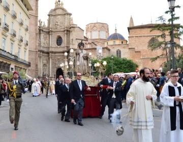 Procesión San Vicente Ferrer. Foto: Esteban García