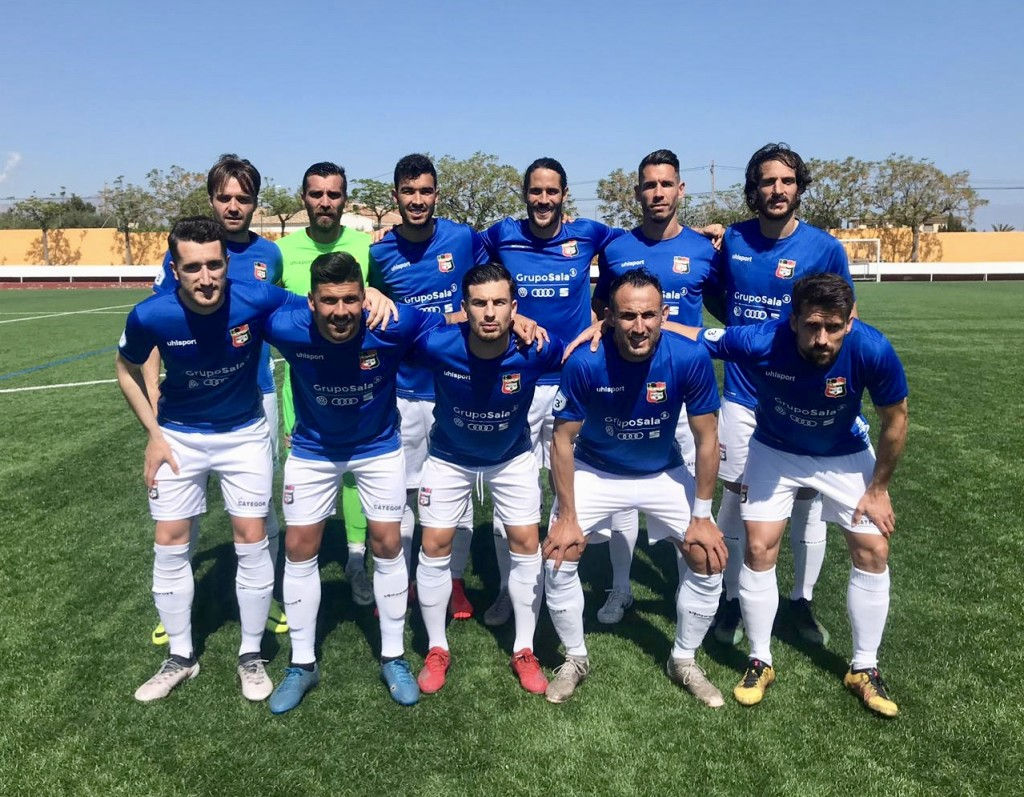 La Nucia CF vs Jove Español S.Vicent 1 abril 2019
