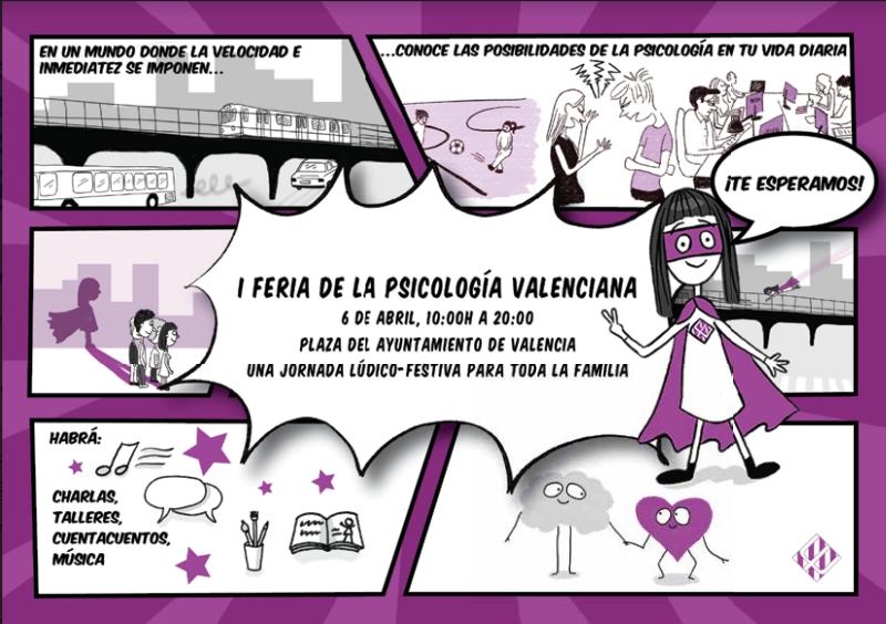 NP Más de 20 actividades y talleres gratuitos integran la I Feria de la Psicología valenciana cunatjose gmail com Gmail