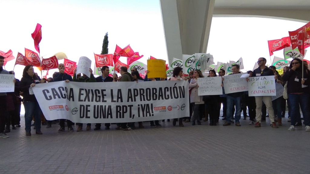Protesta CACSA