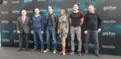 Rueda de prensa Harry Potter The Exhibition, James y Oliver Phelps, los gemelos Weasley, y Natalia 20190411_115442 (1)