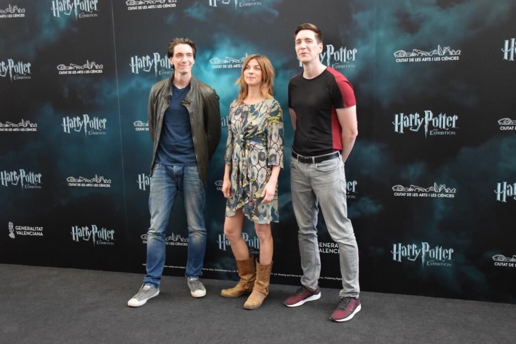 Rueda de prensa Harry Potter The Exhibition, James y Oliver Phelps, los gemelos Weasley, y Natalia 20190411_115442 (3)