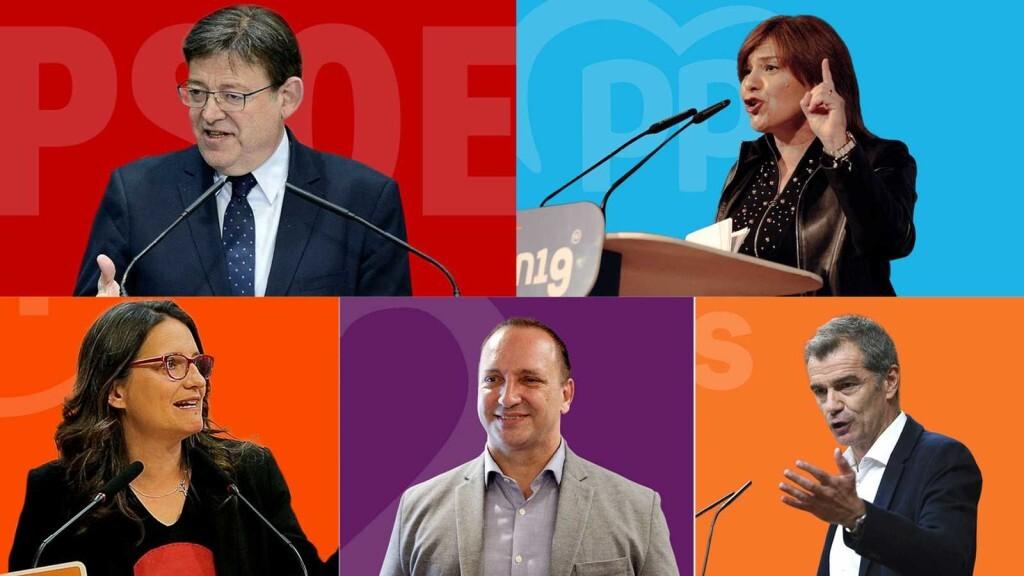 candidatos elecciones valencia