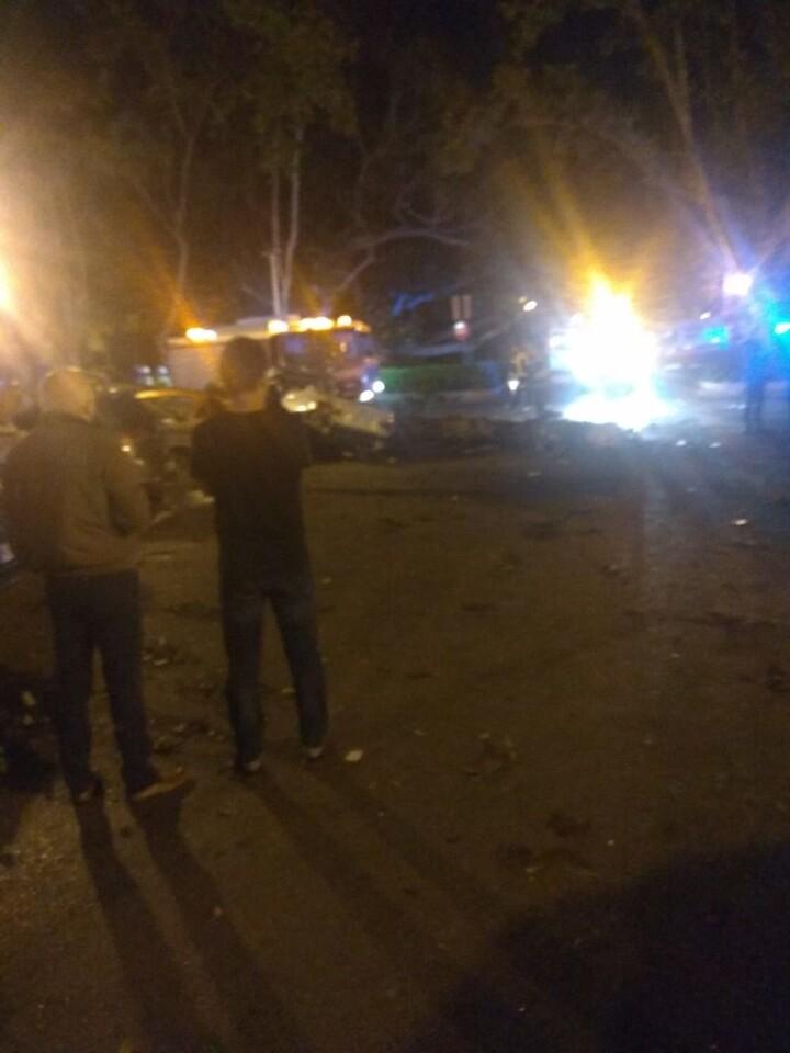 Accidente en la Gran Via de Ferran el Catòlic, 83 de Valencia (1)