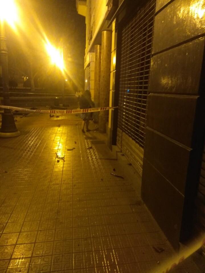Accidente en la Gran Via de Ferran el Catòlic, 83 de Valencia (3)
