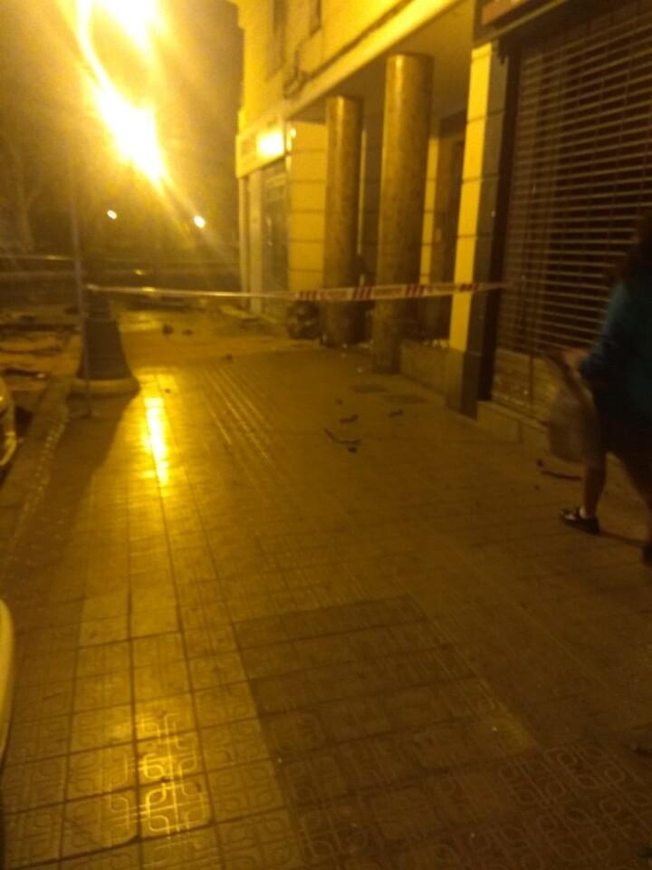 Accidente en la Gran Via de Ferran el Catòlic, 83 de Valencia (5)