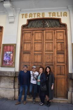 Beatriz Carvajal y Carlos Santos estrenan 'Volvió una noche' al Teatre Talia de Valencia (11)