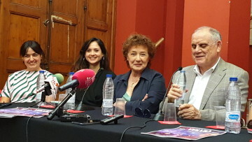 Beatriz Carvajal y Carlos Santos estrenan 'Volvió una noche' al Teatre Talia de Valencia (5)