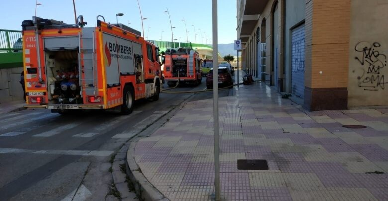AMP.- Una anciana fallece y otra resulta herida por inhalación de humo en un incendio en Cullera Lugar del incendio   (Foto de ARCHIVO) 26/05/2019