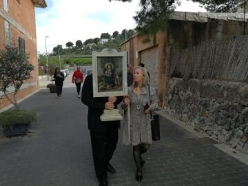 La Universitat de Valencia entrega a Potries la obra restaurada de la Divina Pastora (4)