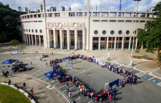 Venue at Red Bull Neymar Jr's Five Qualifier in Sao Paulo, Brazil on May 26, 2019. // Fabio Piva/Red Bull Content Pool // AP-1ZF376ZNS2111 // Usage for editorial use only // Please go to www.redbullcontentpool.com for further information. //