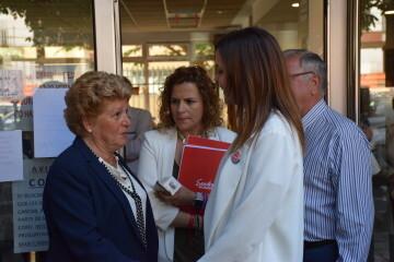 Visita al Centro municipal de actividades de personas mayores De NOU-MOLES de Sandra Gómez acompañada de Ximo Puig, President de la Generalitat 20190522_115302 (12)