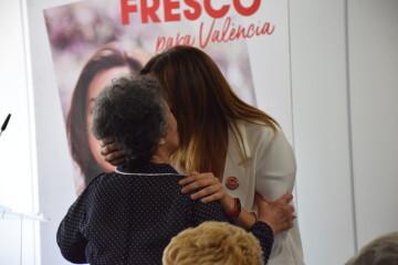 Visita al Centro municipal de actividades de personas mayores De NOU-MOLES de Sandra Gómez acompañada de Ximo Puig, President de la Generalitat 20190522_115302 (56)
