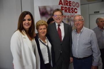 Visita al Centro municipal de actividades de personas mayores De NOU-MOLES de Sandra Gómez acompañada de Ximo Puig, President de la Generalitat 20190522_115302 (60)