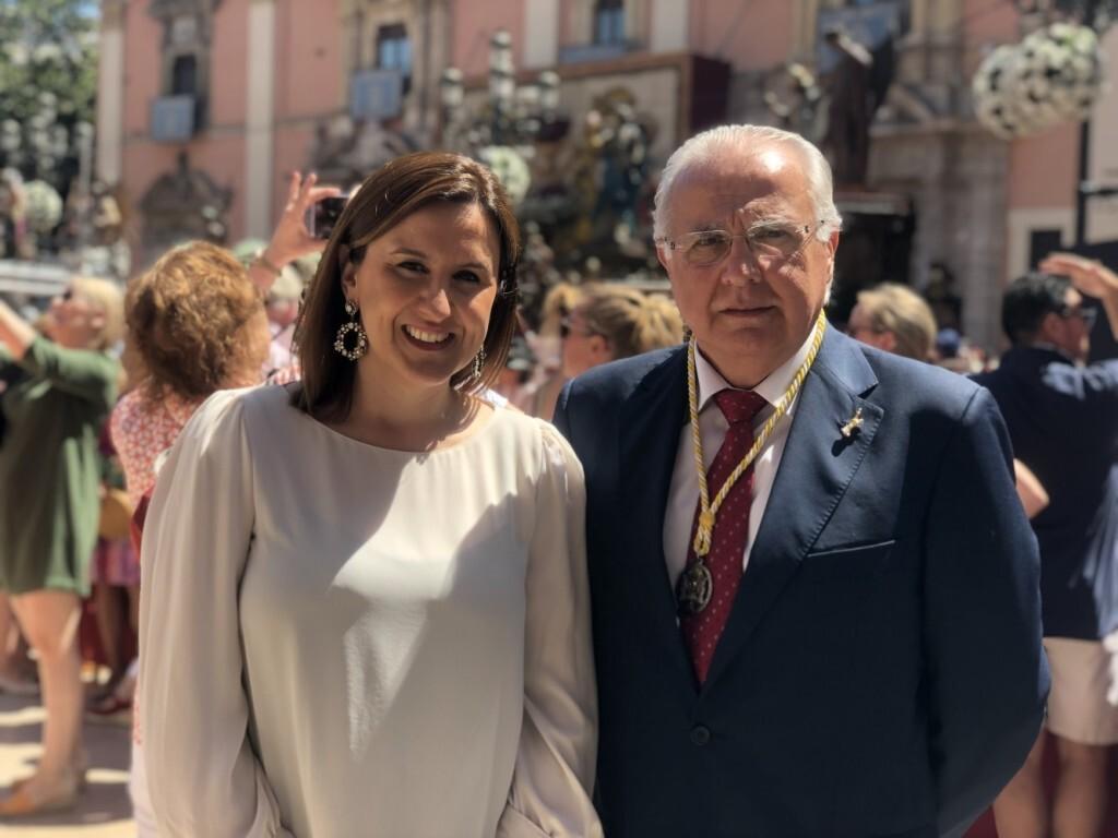 Catalá con Presidente Corpus
