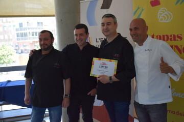 """El ganador del """"II Concurso de la Mejor Tapa de CV"""" es el restaurante Rincón de Capis (153)"""