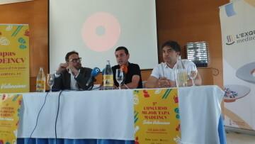 """El ganador del """"II Concurso de la Mejor Tapa de CV"""" es el restaurante Rincón de Capis (30)"""